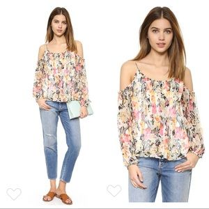 Elizabeth and James Floral Maylin Blouse